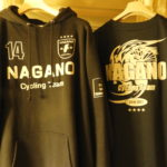 〔お知らせ〕長野県サポーターズTシャツ&パーカーを飯山シクロクロス大会で販売します。