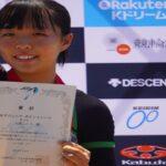 《速報》「2021全日本自転車競技選手権Jr.トラック」女子ポイントレースで大蔵こころ(赤穂中出)3位表彰台。